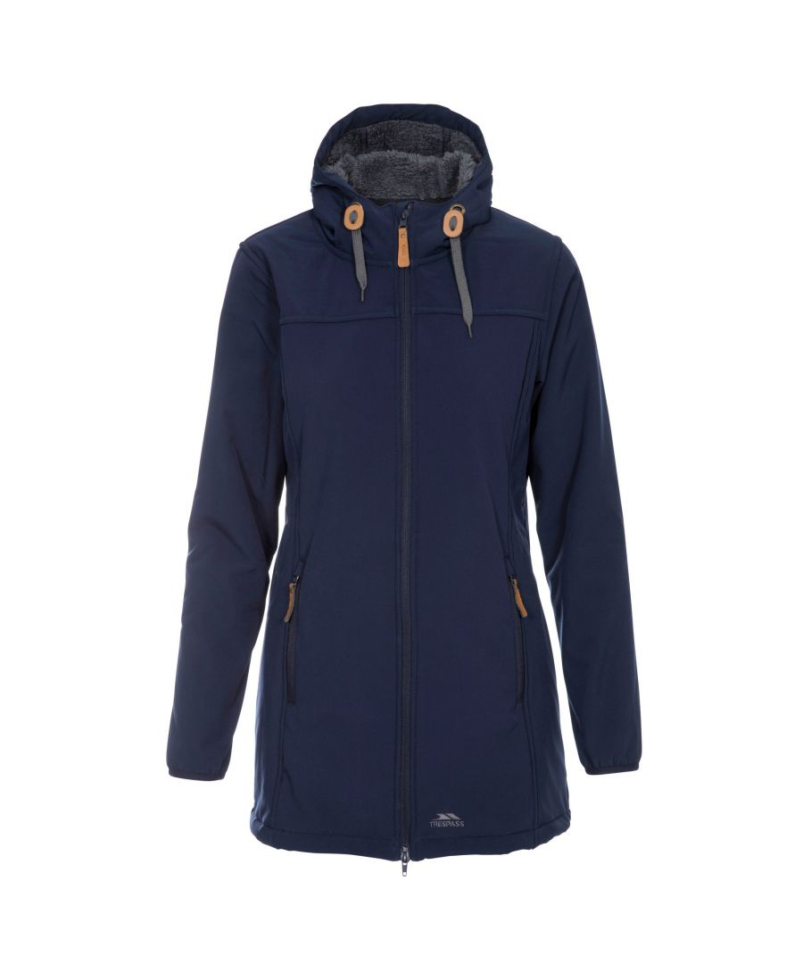 Image for Trespass Womens/Ladies Kristen Longer Length Hooded Waterproof Jacket