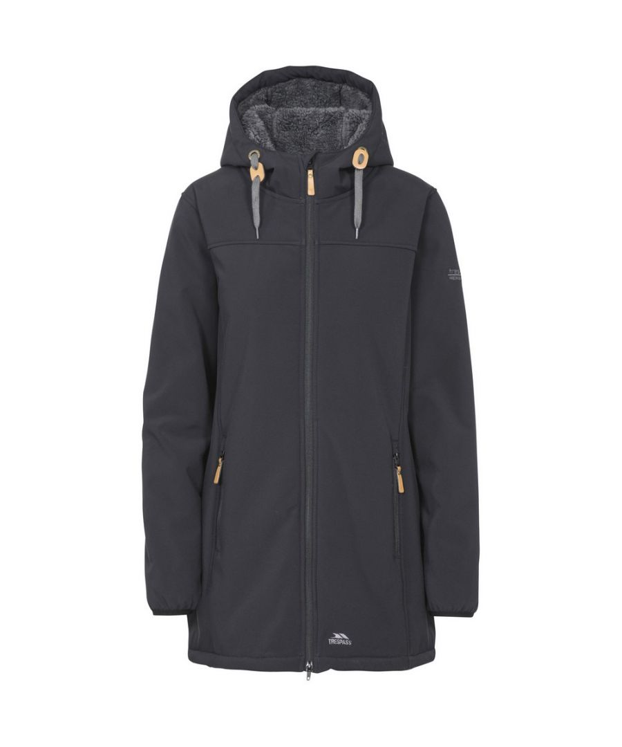 Image for Trespass Womens/Ladies Kristen Longer Length Hooded Waterproof Jacket