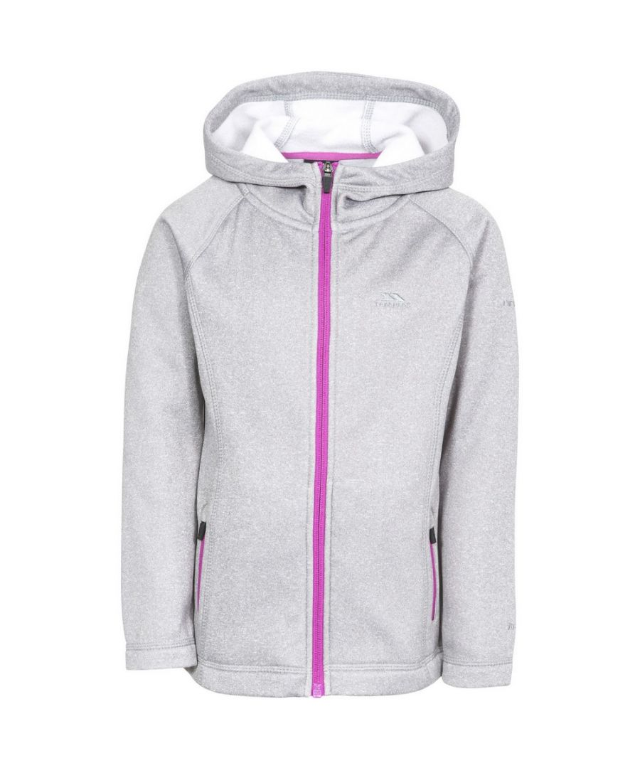 Image for Trespass Childrens Girls Vanlily Insulated Fleece Hoodie