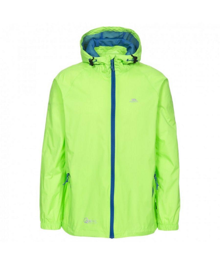 Image for Trespass Adults Unisex Qikpac Packaway Waterproof Jacket