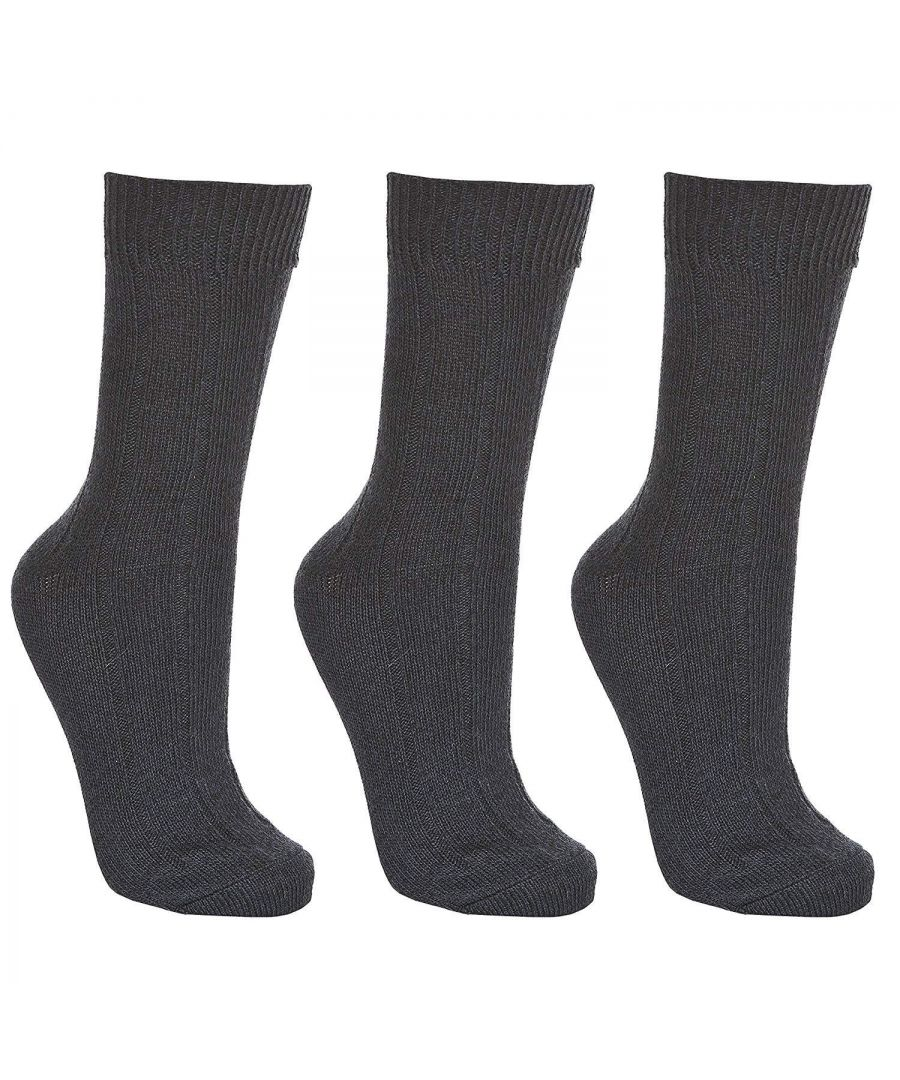 Image for Trespass Adults Unisex Intense Walking Socks (3 Pairs)