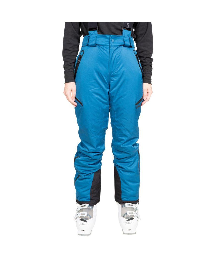 Image for Trespass Womens/Ladies Marisol Ski Trousers (Cosmic Blue)