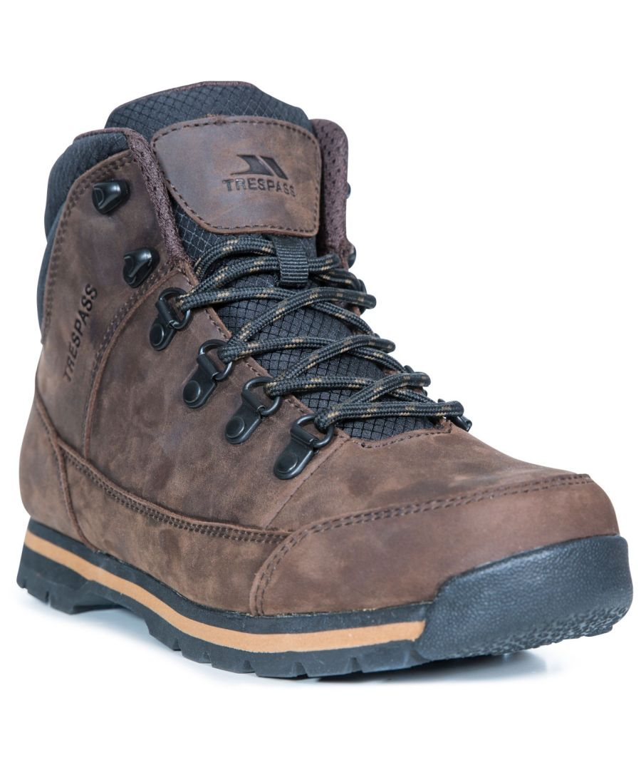 Image for Trespass Mens Jericho Leather Boots