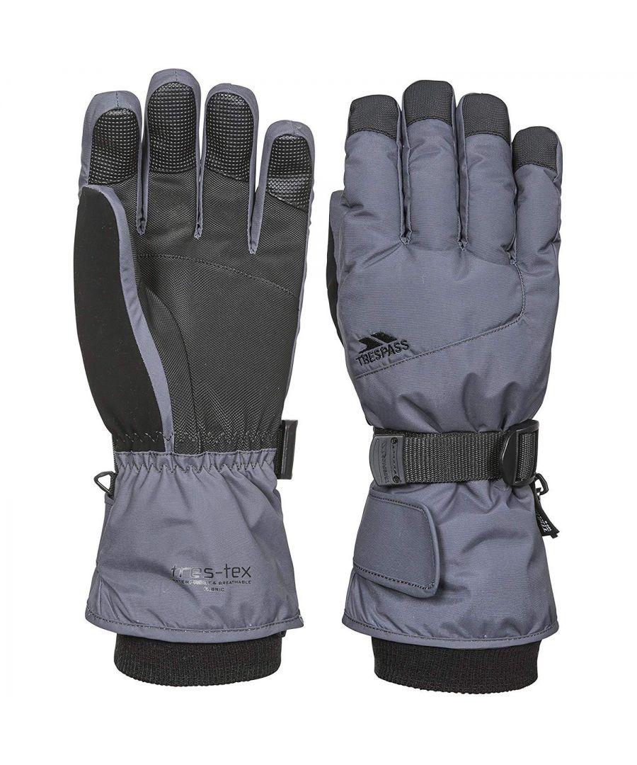 Image for Trespass Childrens/Kids Ergon II Ski Gloves