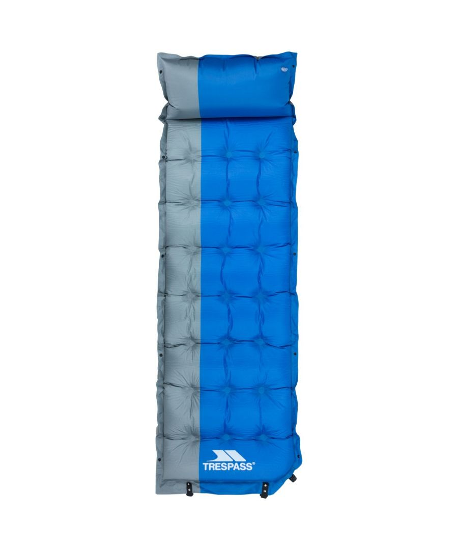 Image for Trespass Soltare Inflatable Sleeping Bed (Blue)