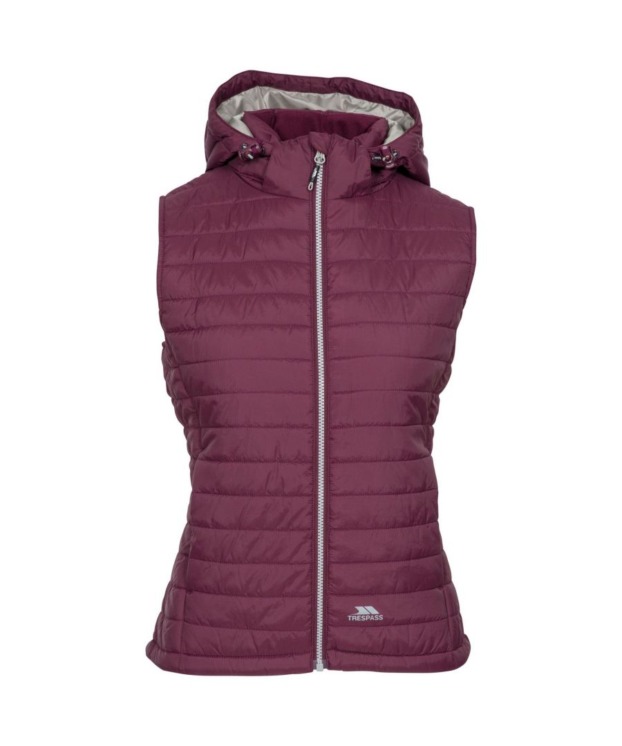 Image for Trespass Womens/Ladies Aretha Casual Gilet (Fig)