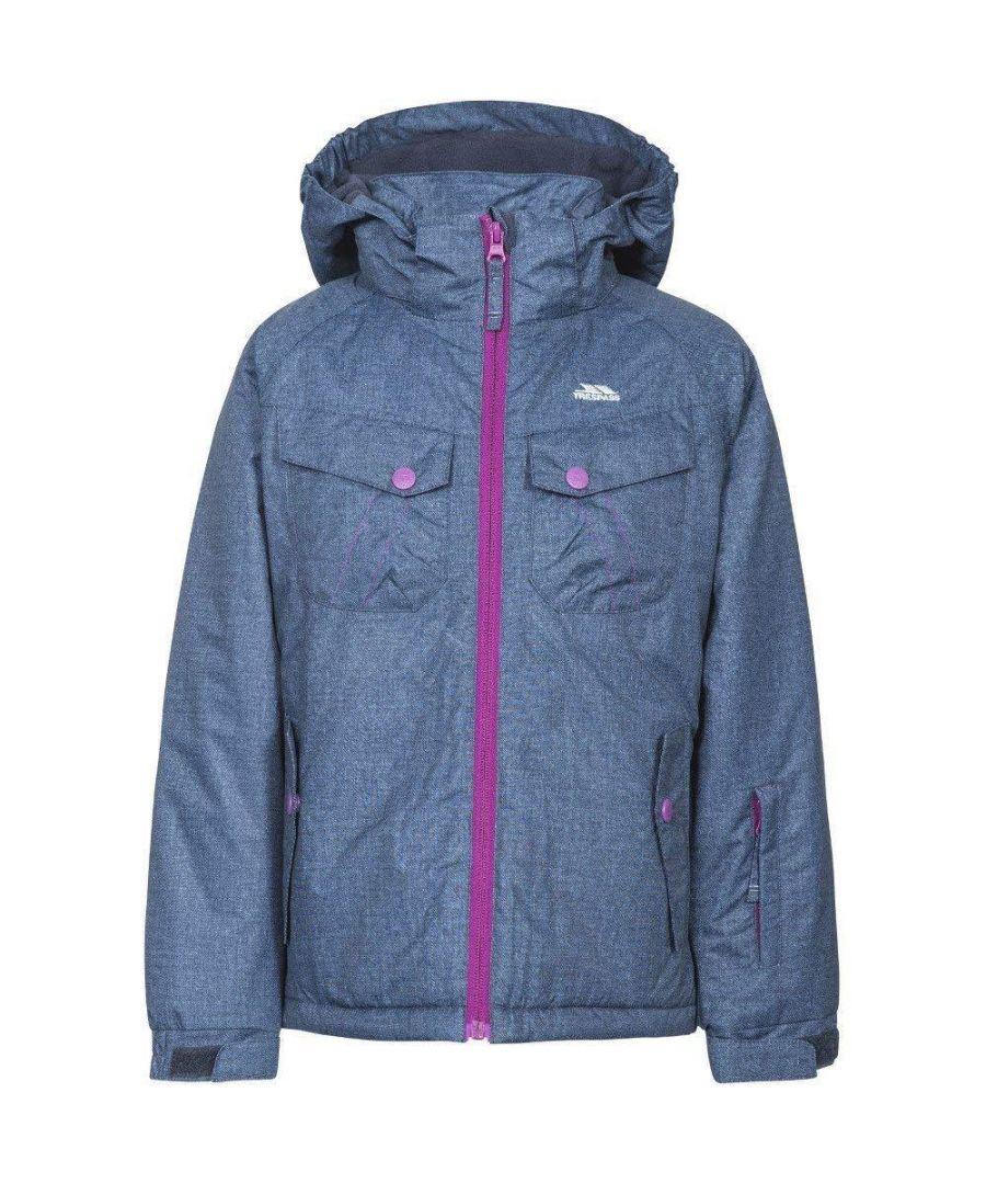 Image for Trespass Childrens Girls Backspin Ski Jacket (Dark Denim)