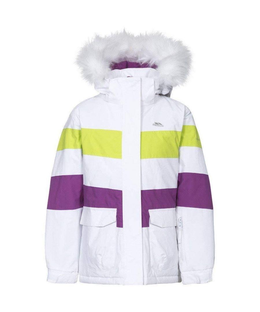 Image for Trespass Childrens Girls Hawser Ski Jacket (White)