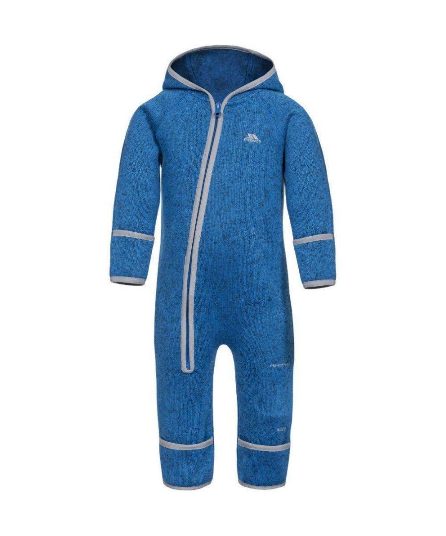 Image for Trespass Baby Amberjack Fleece Suit (Blue Marl)