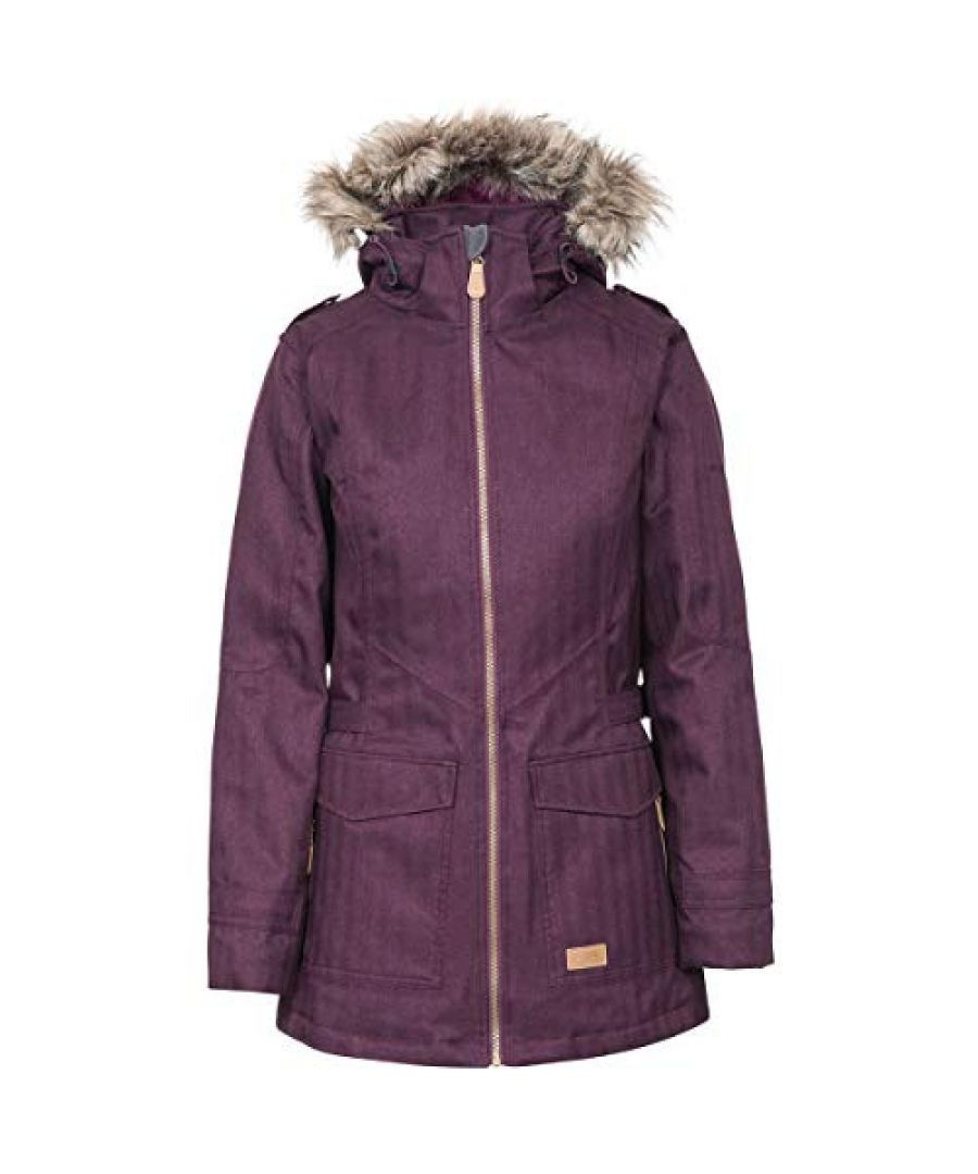 Image for Trespass Womens/Ladies Everyday Waterproof Jacket