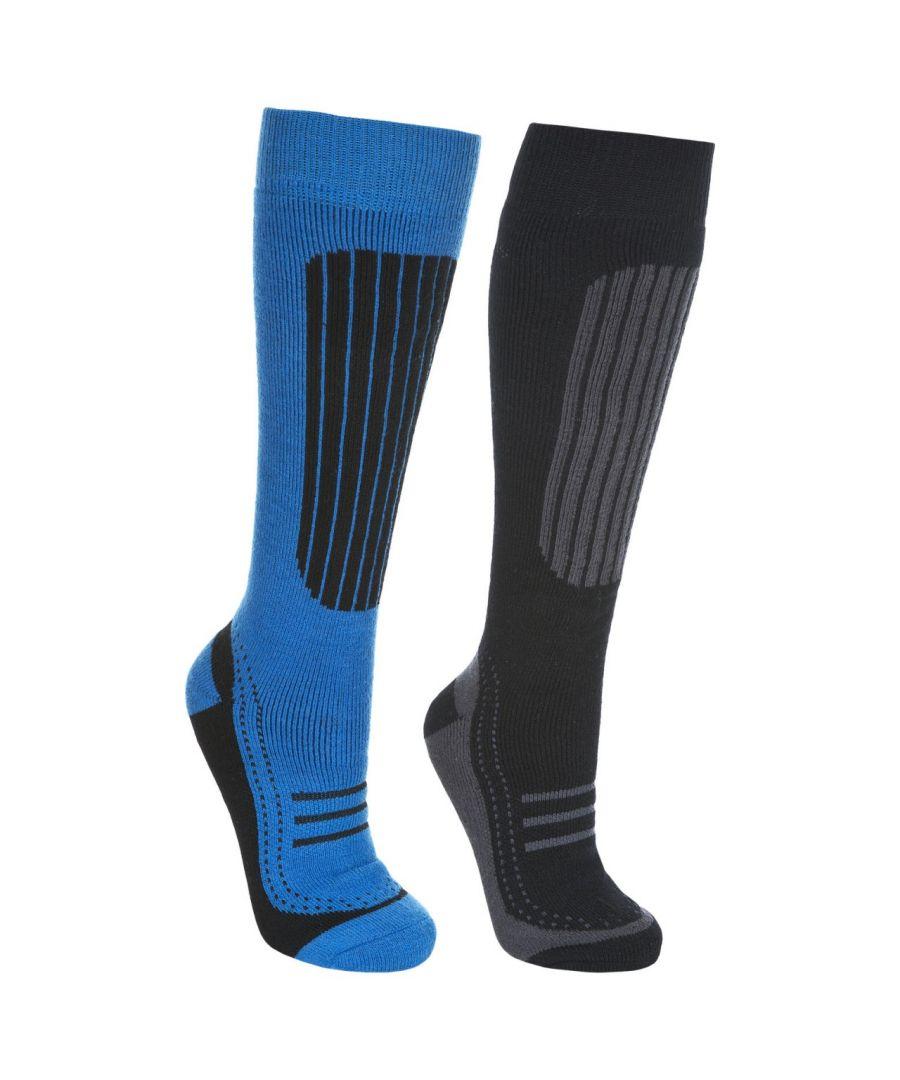 Image for Trespass Mens Langdon II Ski Socks (2 Pairs)