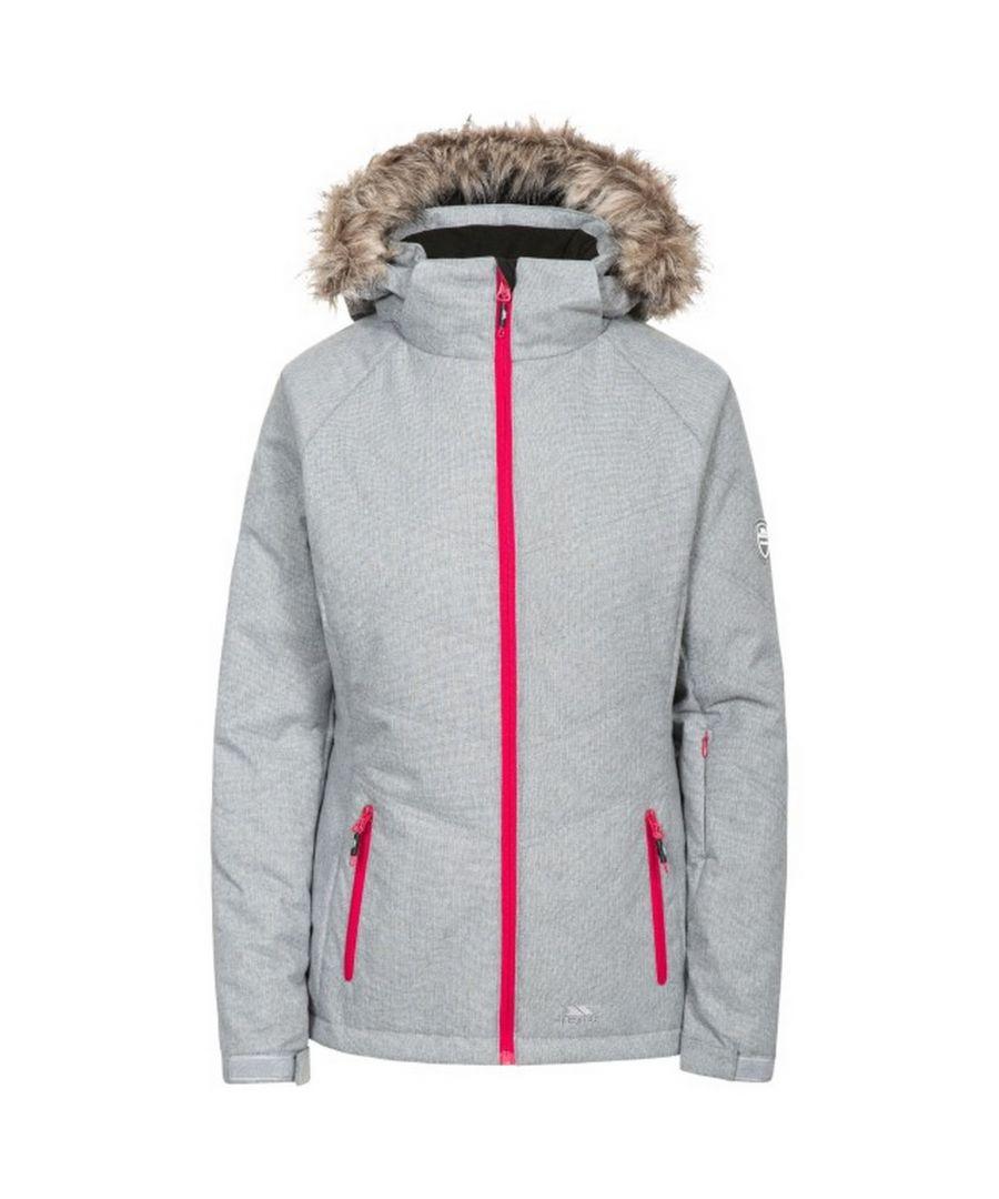 Image for Trespass Womens/Ladies Always Ski Jacket (Cool Grey)