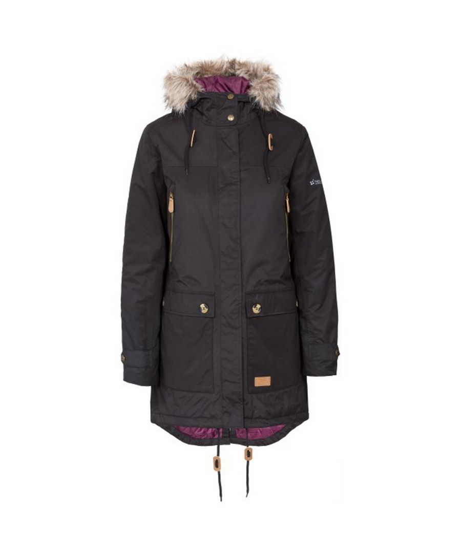 Image for Trespass Womens/Ladies Clea Waterproof Parka Padded Jacket