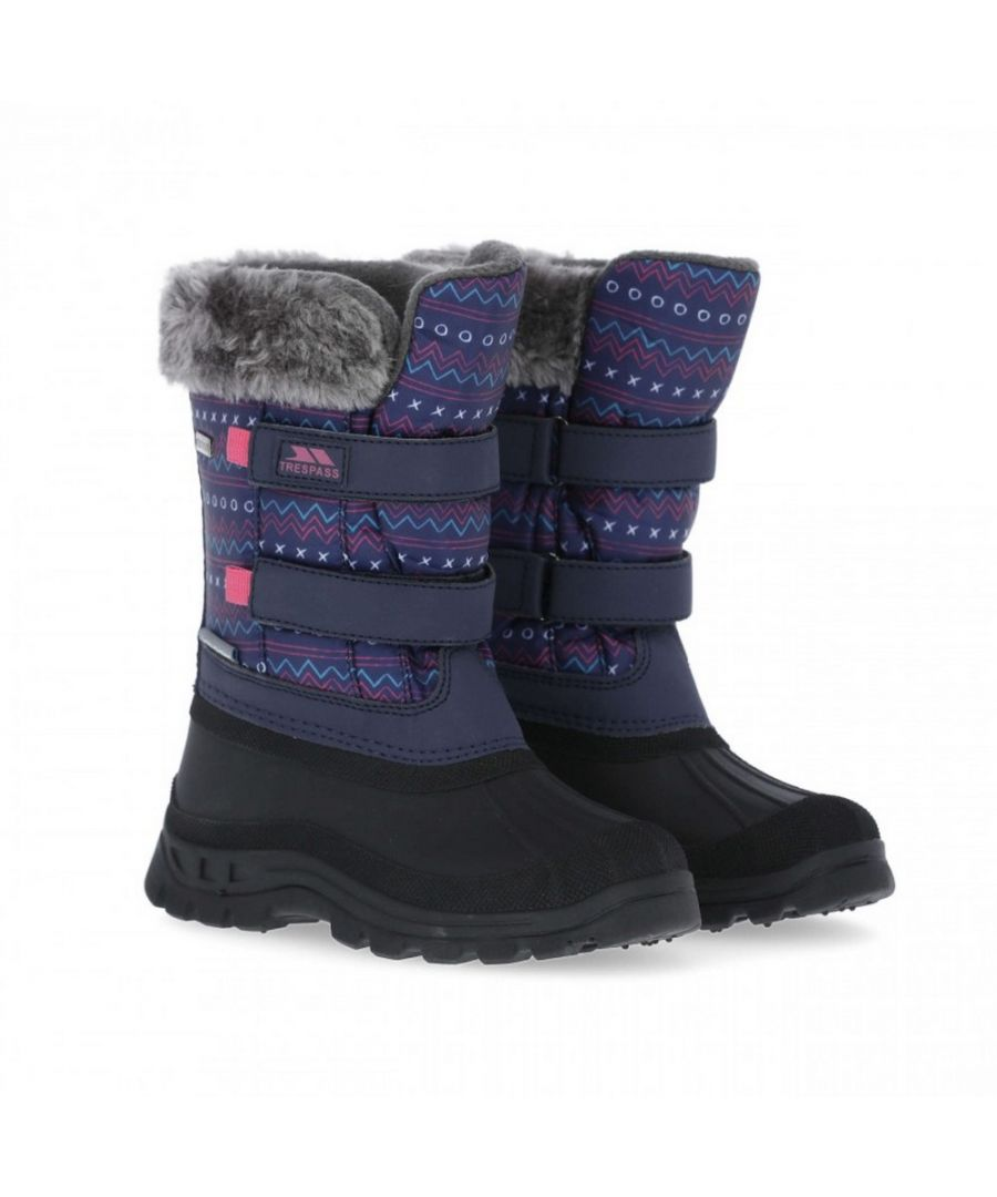 Image for Trespass Childrens/Kids Vause Touch Fastening Snow Boots