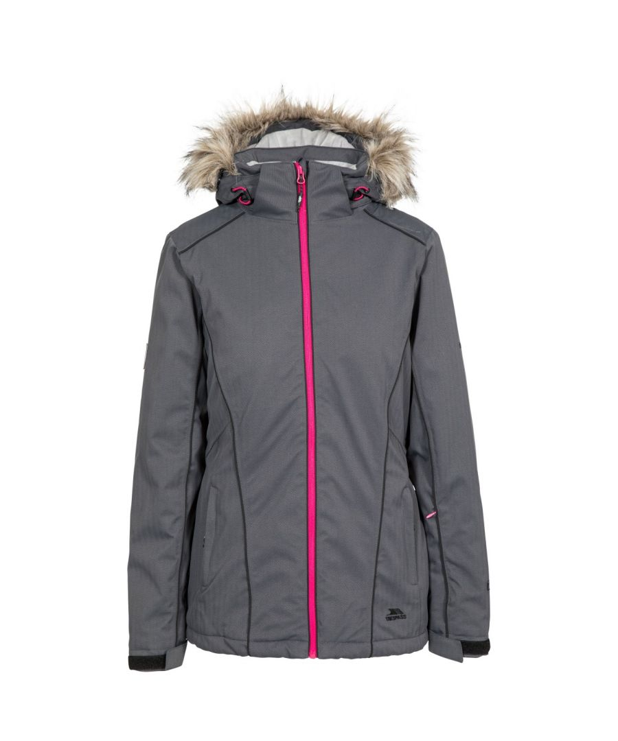 Image for Trespass Womens/Ladies Caitly Hooded Touch Fastening Ski Jacket