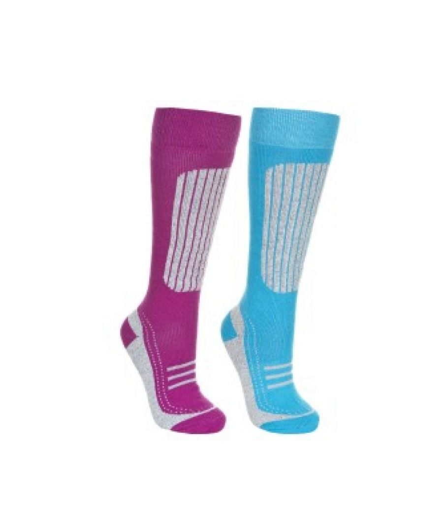 Image for Trespass Womens/Ladies Janus II Ski Socks (Pack Of 2)