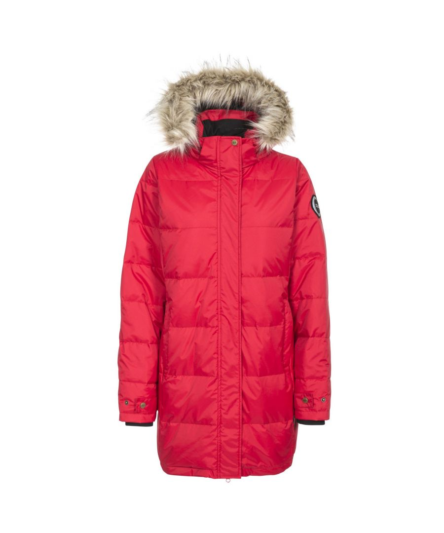Image for Trespass Womens/Ladies Ophelia Deluxe Hooded Down Jacket