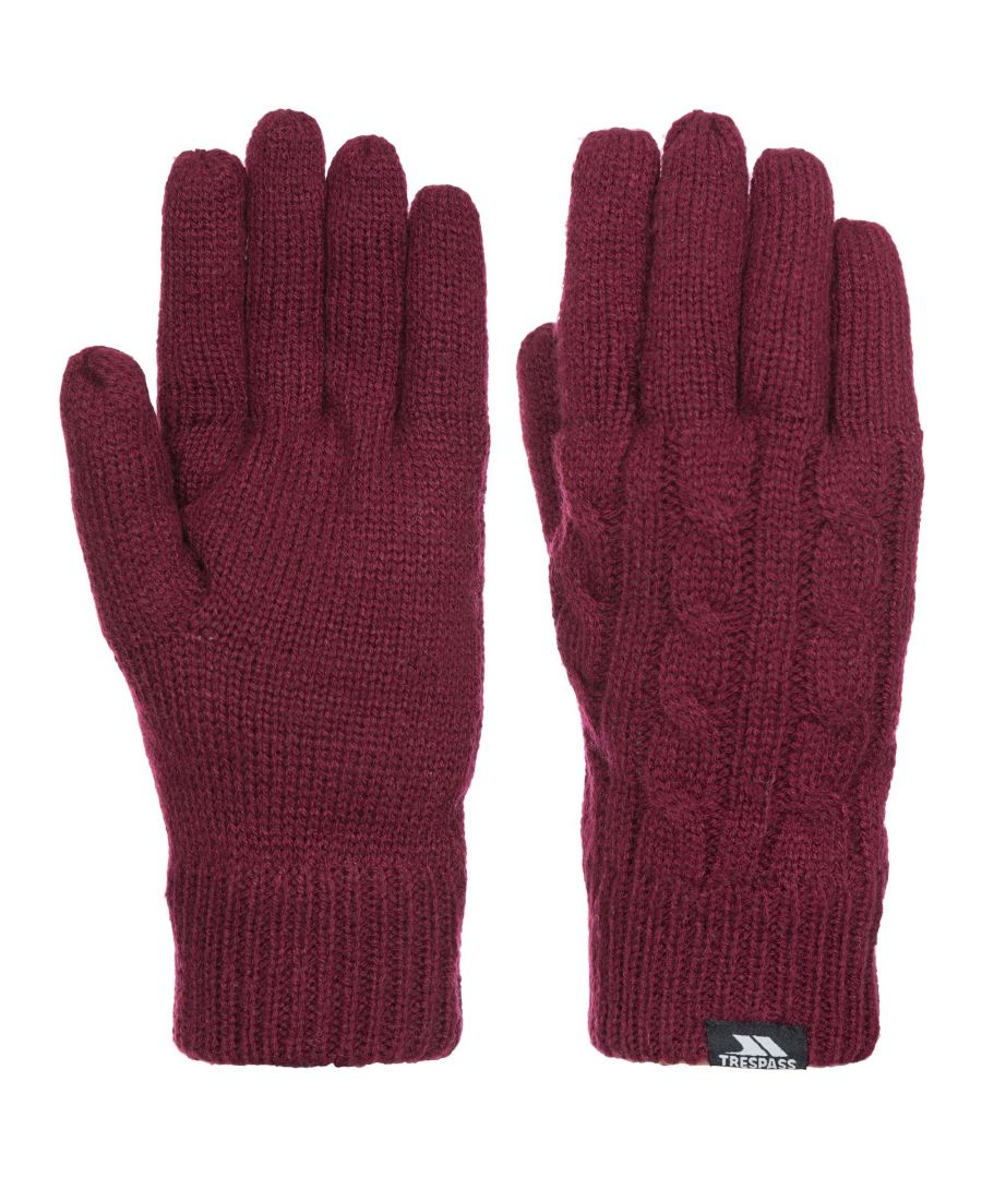 Image for Trespass Womens/Ladies Sutella Knitted Gloves