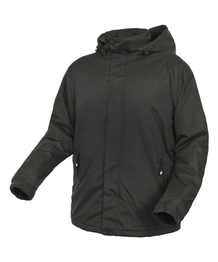 Image for Trespass Mens Bayfield Hooded Touch Fastening Weatherproof Jacket
