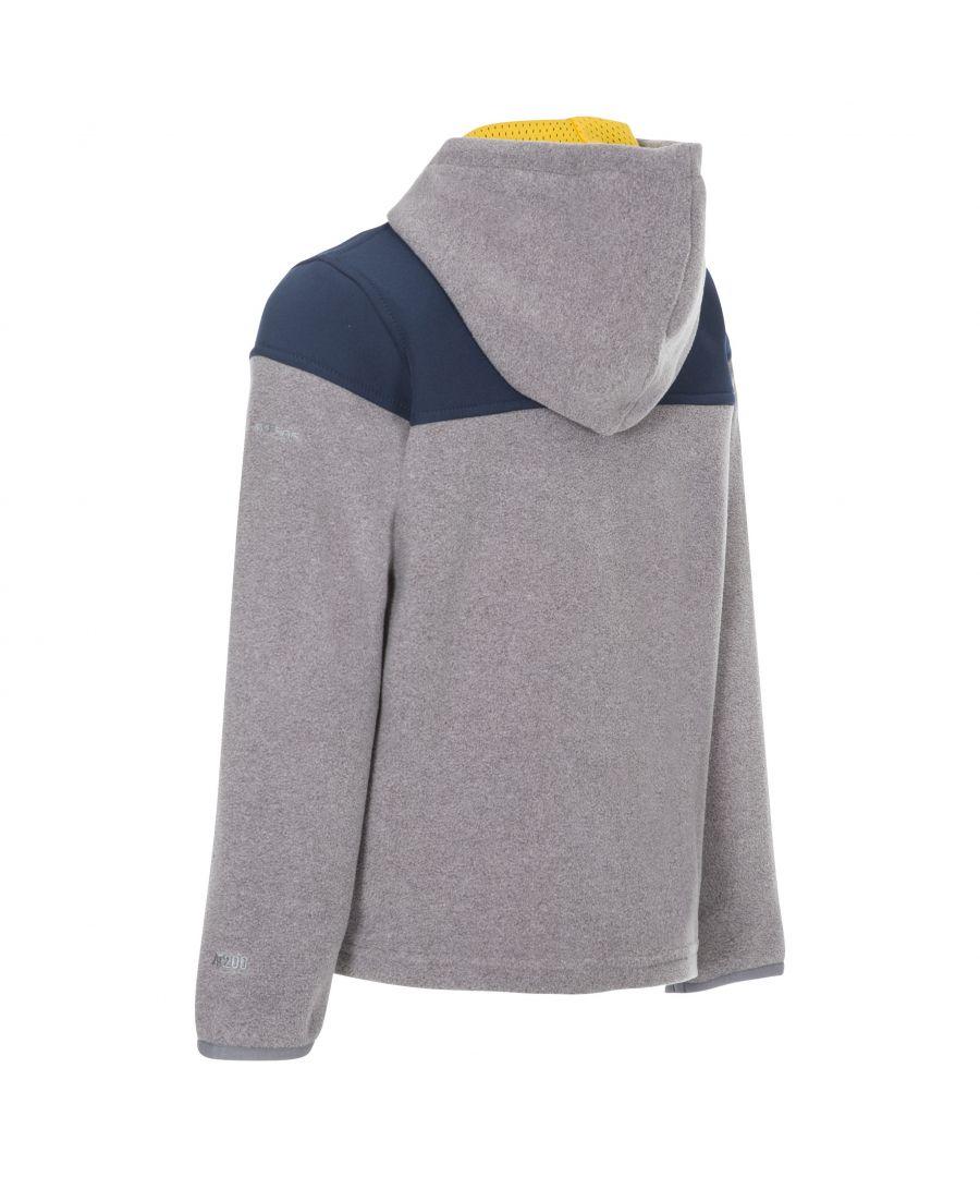 Image for Trespass Boys Bieber Hooded Fleece Jacket (Navy)