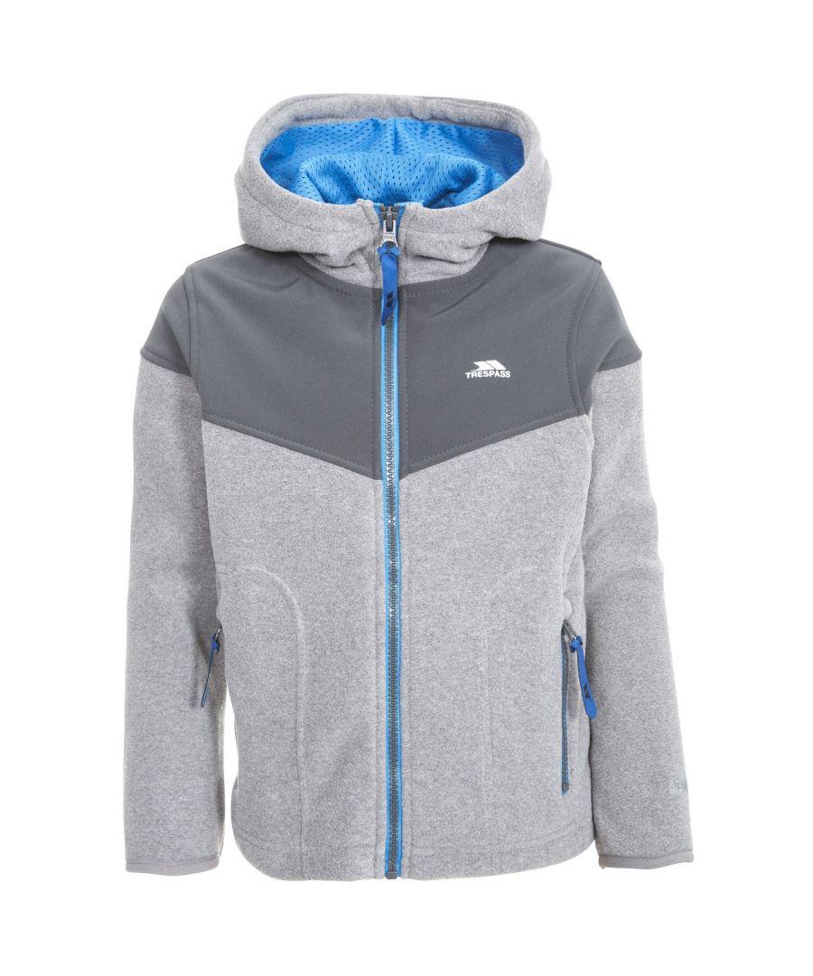Image for Trespass Boys Bieber Hooded Fleece Jacket