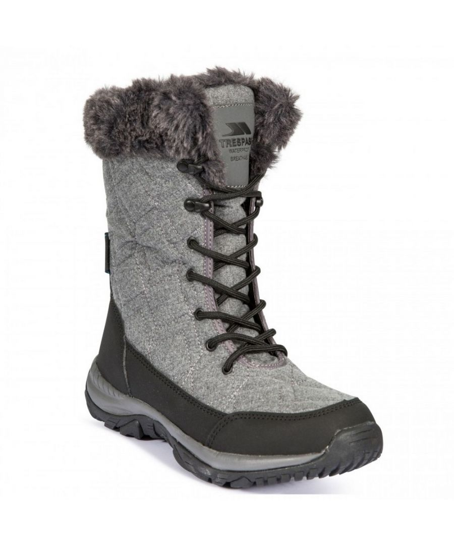 Image for Trespass Womens/Ladies Esmae Waterproof Snow Boots