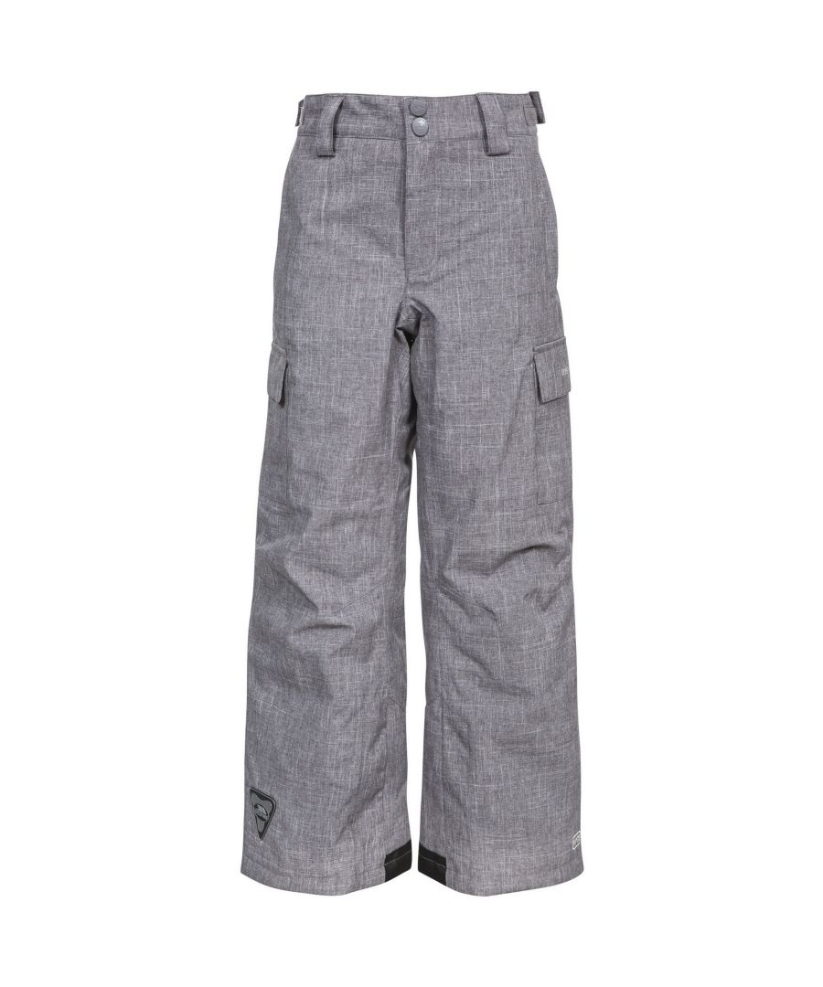 Image for Trespass Childrens/Kids Joust Weatherproof Padded Touch Fastening Trousers