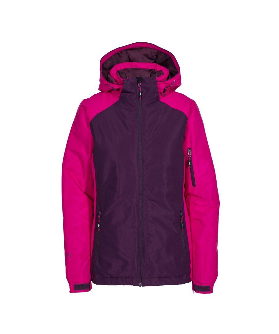 Image for Trespass Womens/Ladies Sheelin Touch Fastening Hooded Ski Jacket