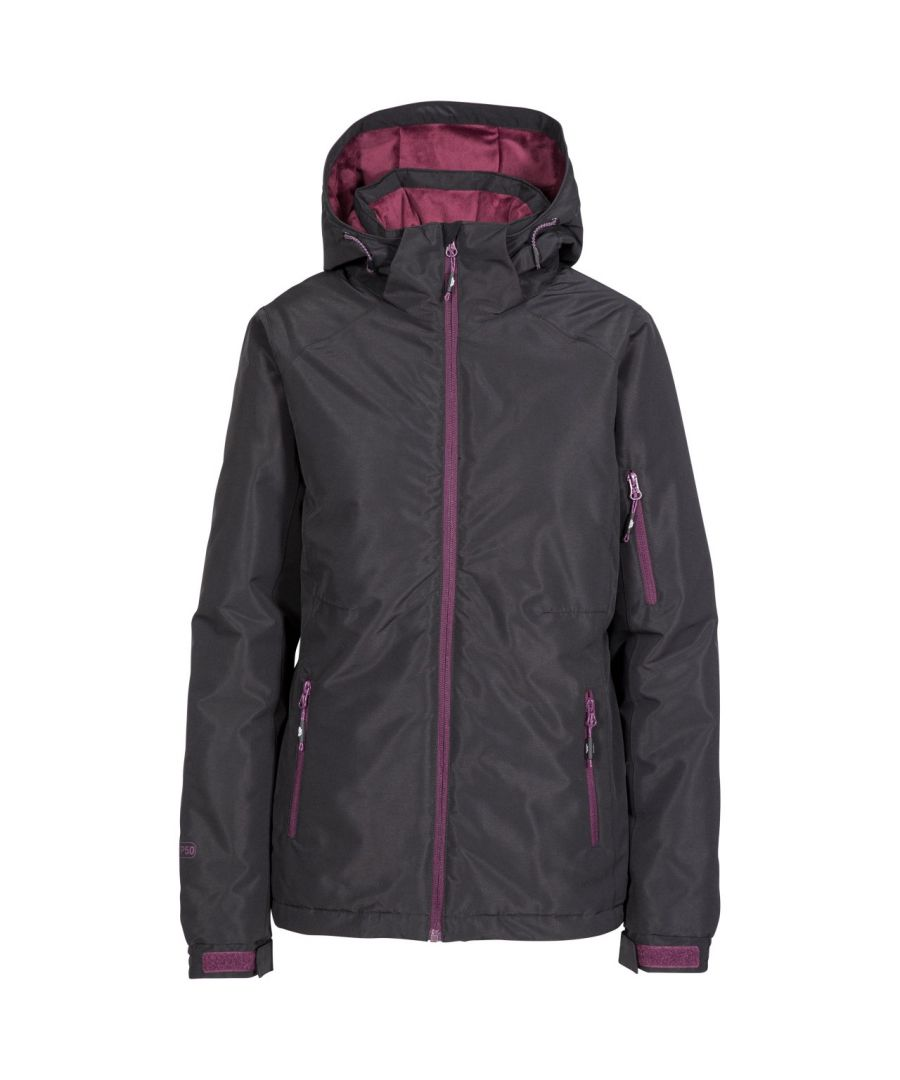 Image for Trespass Womens/Ladies Sheelin Touch Fastening Hooded Ski Jacket