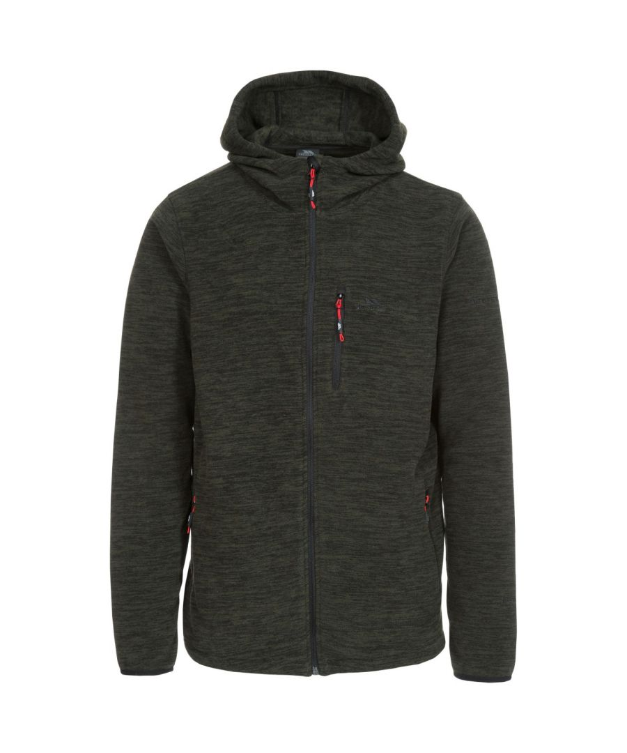 Image for Trespass Mens Barack Full Zip Fleece Hoodie