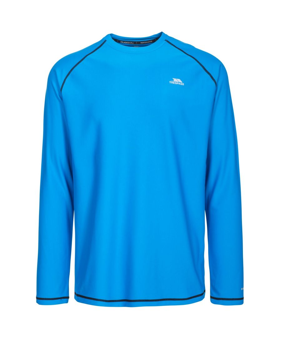 Image for Trespass Mens Burrows Long Sleeve Active Top