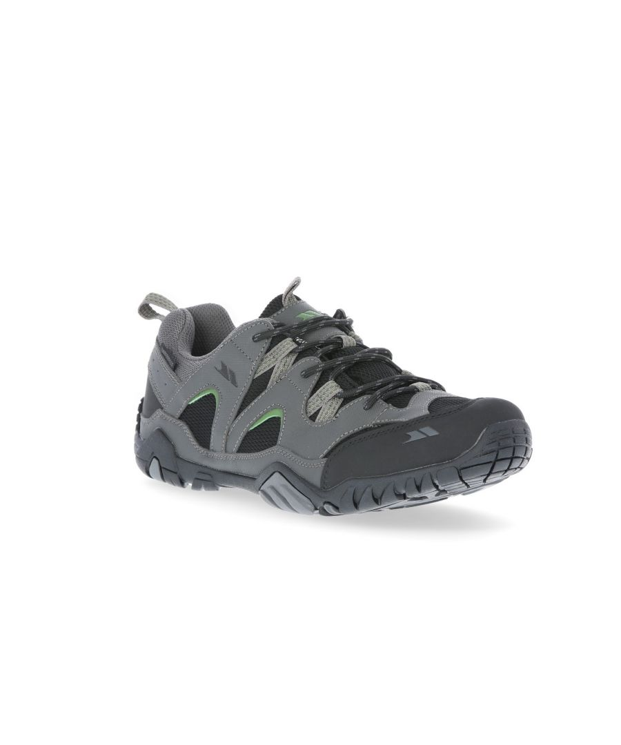 Image for Trespass Mens Helme II Low Cut Trainers (Gull)