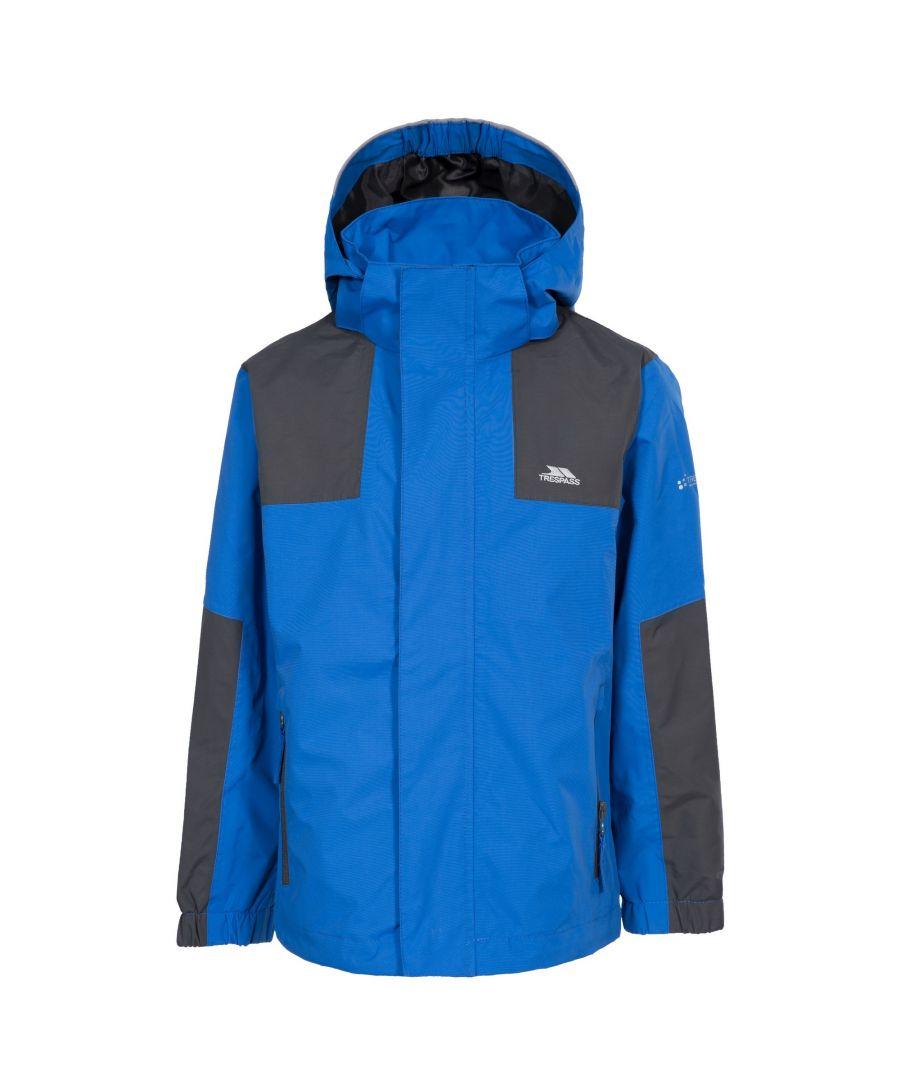 Image for Trespass Childrens Boys Farpost Waterproof Jacket