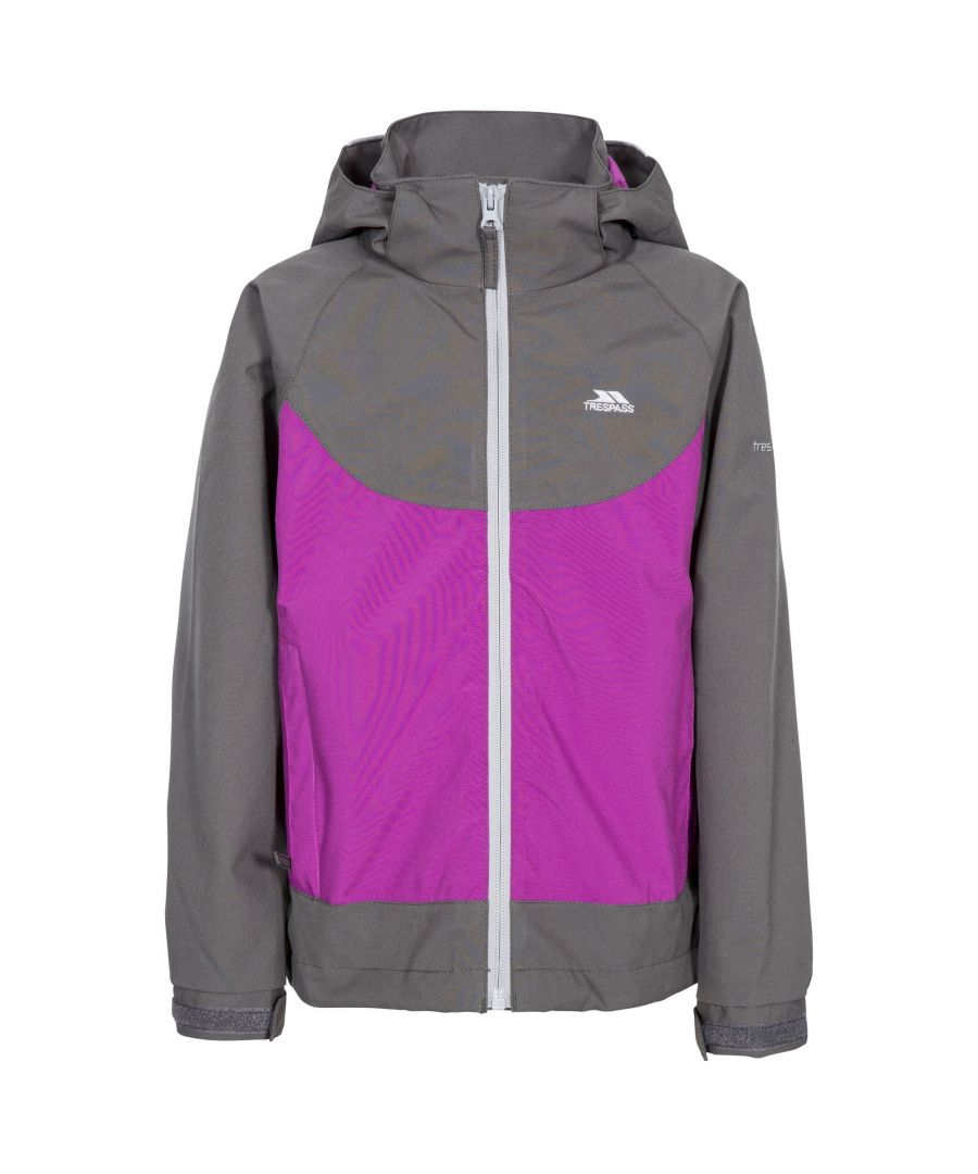 Image for Trespass Girls Novah Waterproof Jacket