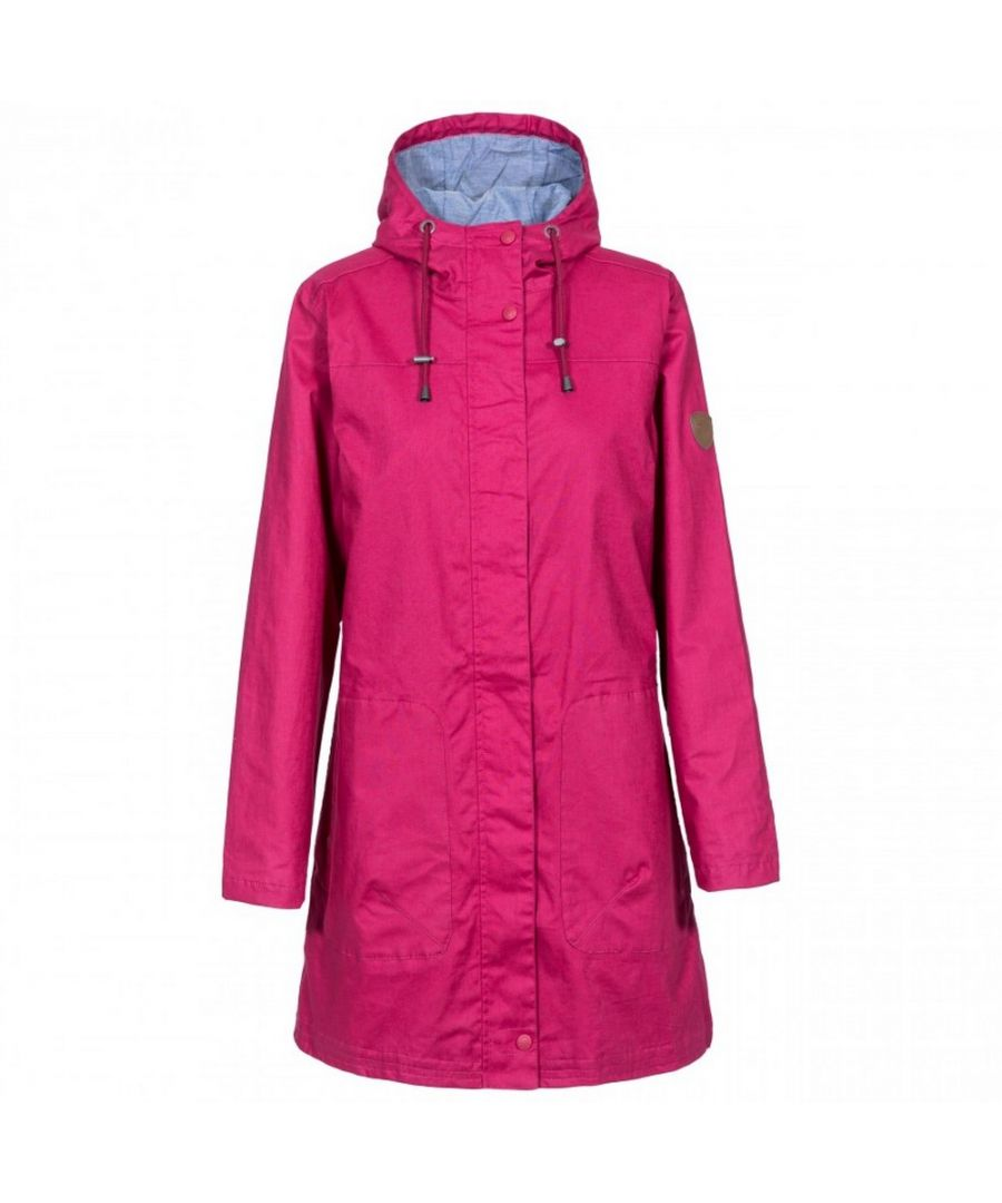 Image for Trespass Womens/Ladies Sprinkled Waterproof Jacket