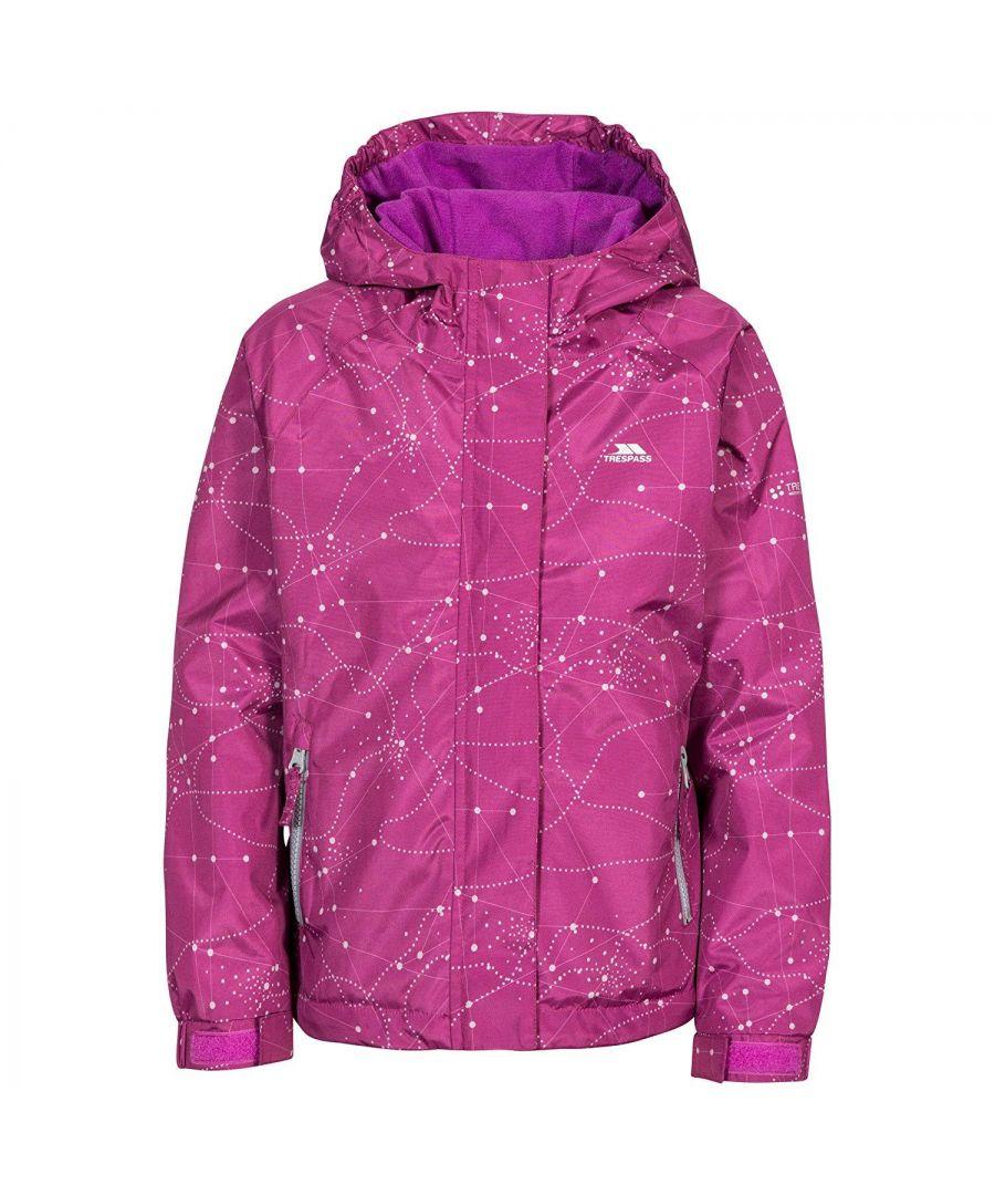 Image for Trespass Childrens Girls Vilma Waterproof Jacket