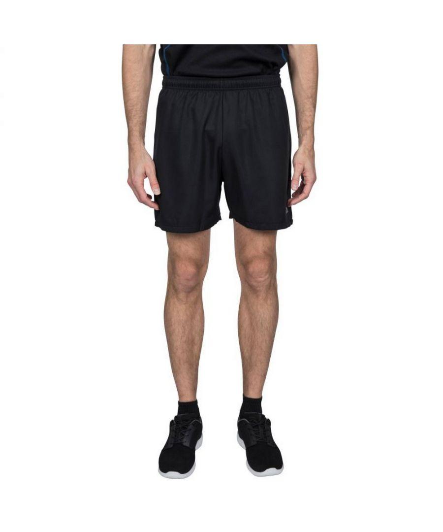 Image for Trespass Mens Shane Sport Shorts (Black/Black)