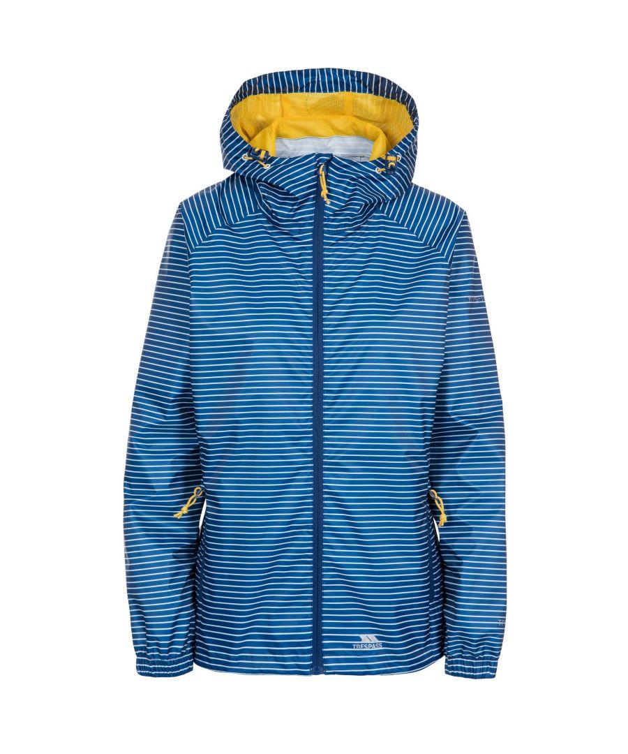 Image for Trespass Womens/Ladies Indulge Waterproof Packaway Jacket