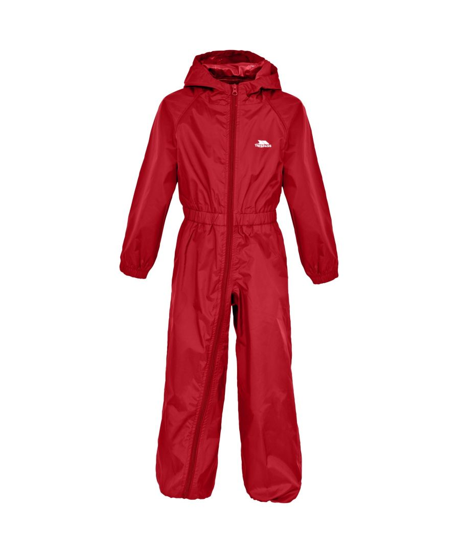 Image for Trespass Childrens/Kids Button Waterproof Rain Suit
