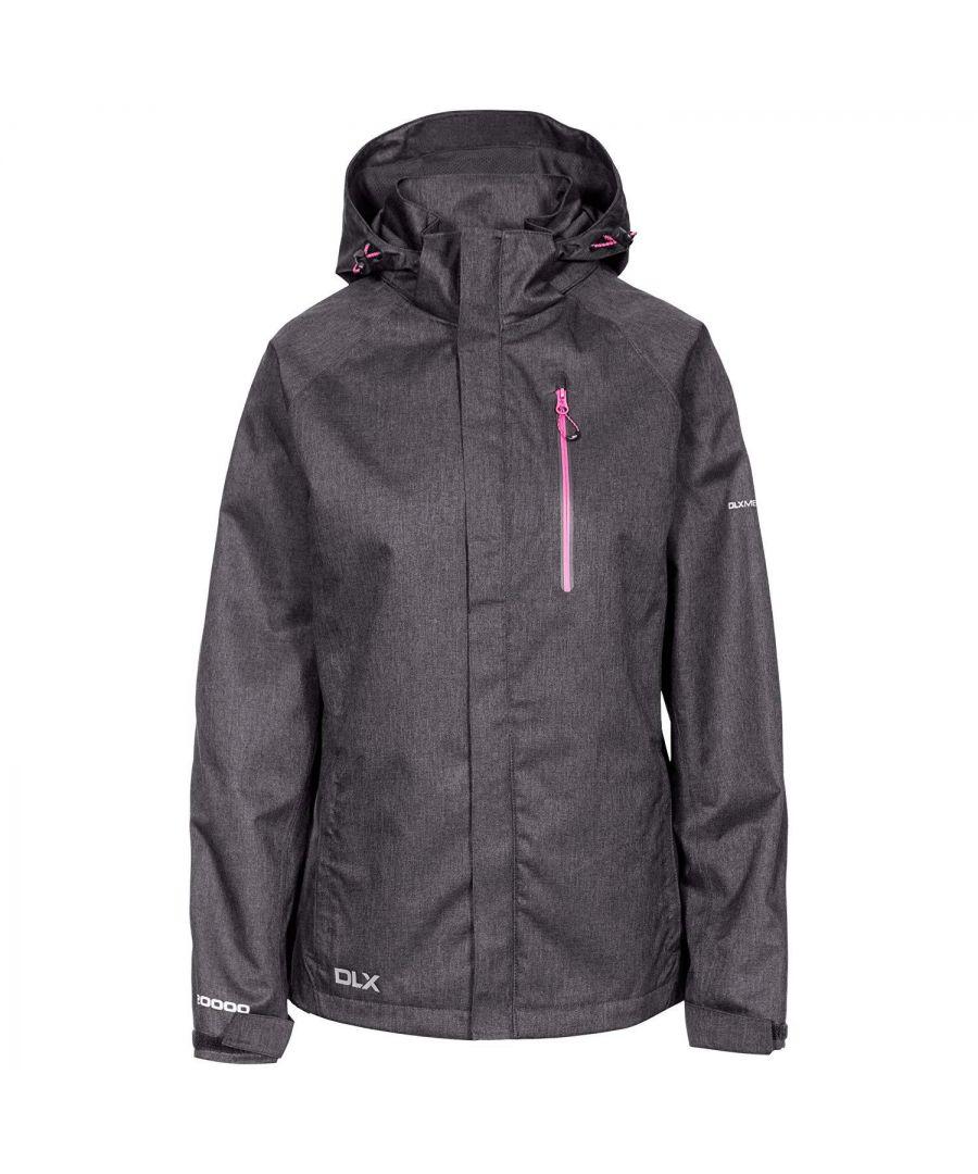 Image for Trespass Womens/Ladies Tiya Waterproof DLX Jacket