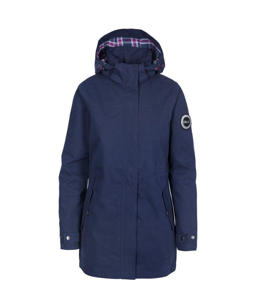 Image for Trespass Womens/Ladies Henriette Waterproof DLX Jacket