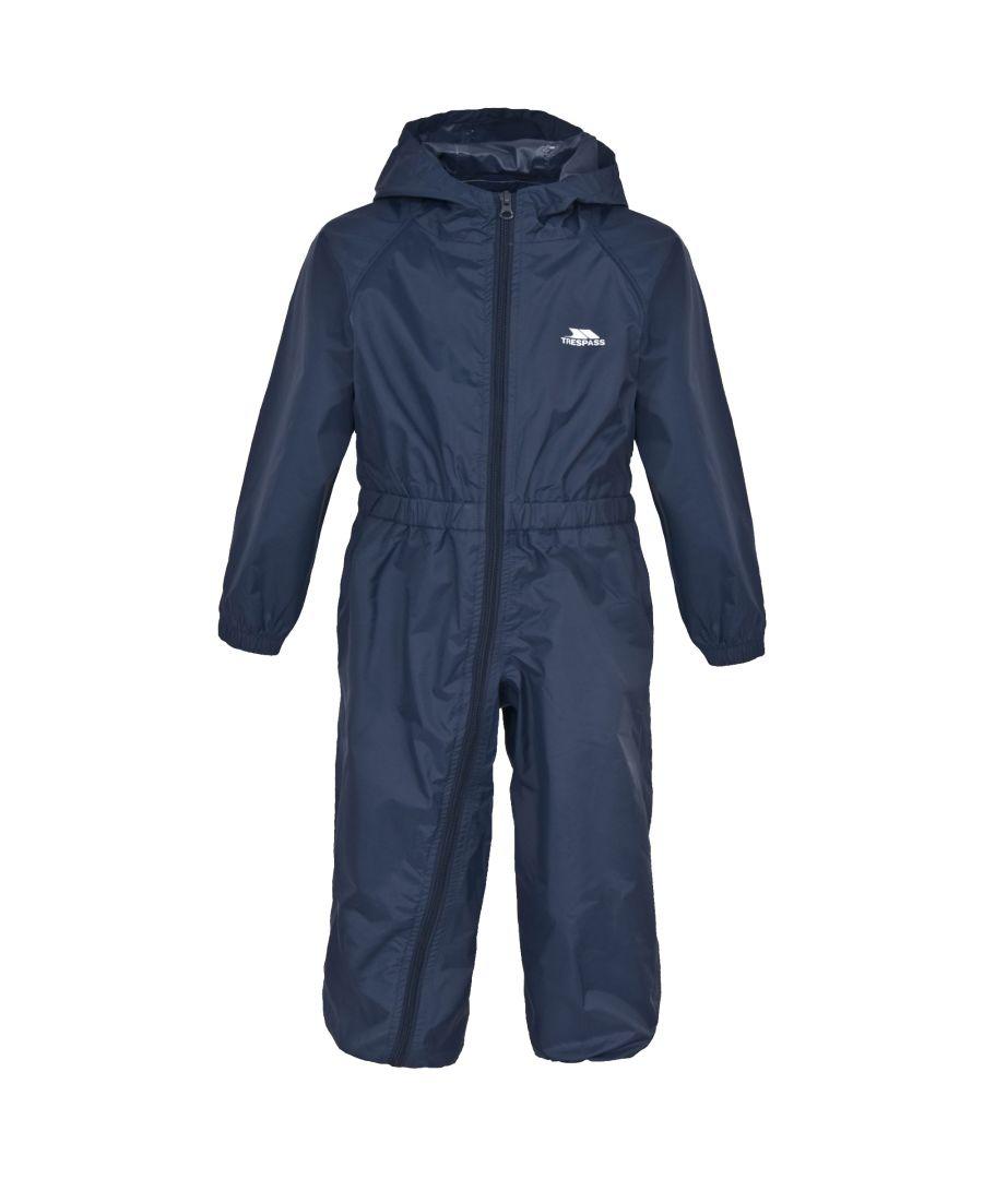 Image for Trespass Babies Button Waterproof Rain Suit