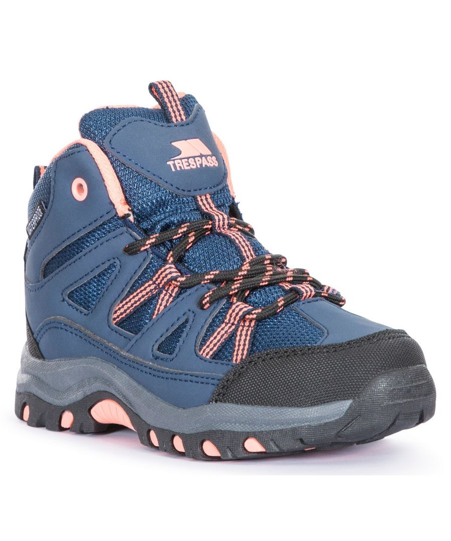 Image for Trespass Childrens/Kids Gillon Mid Cut Walking Boots