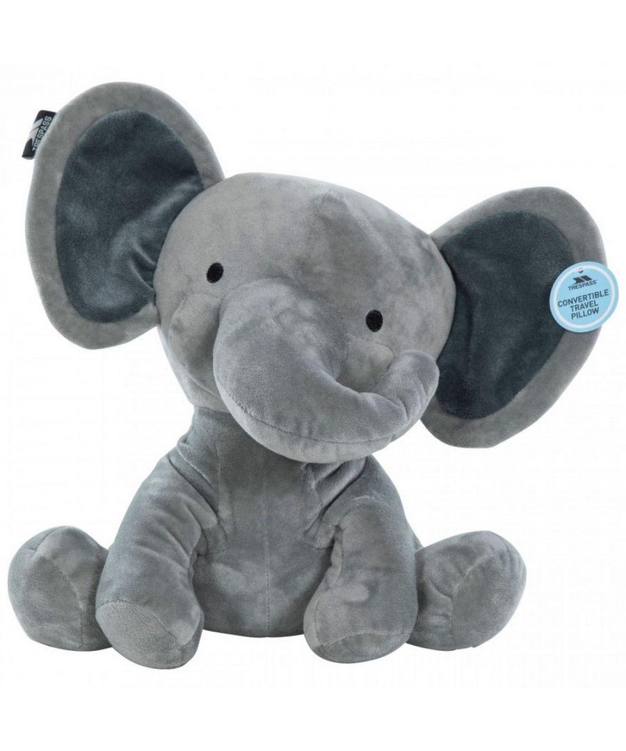 Image for Trespass Childrens/Kids Zalika Elephant Convertible Travel Pillow