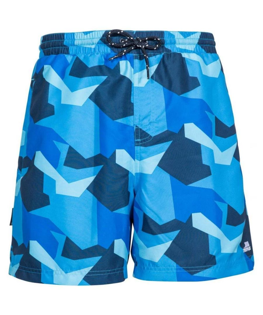 Image for Trespass Mens Chiggers Mid Length Swim Shorts