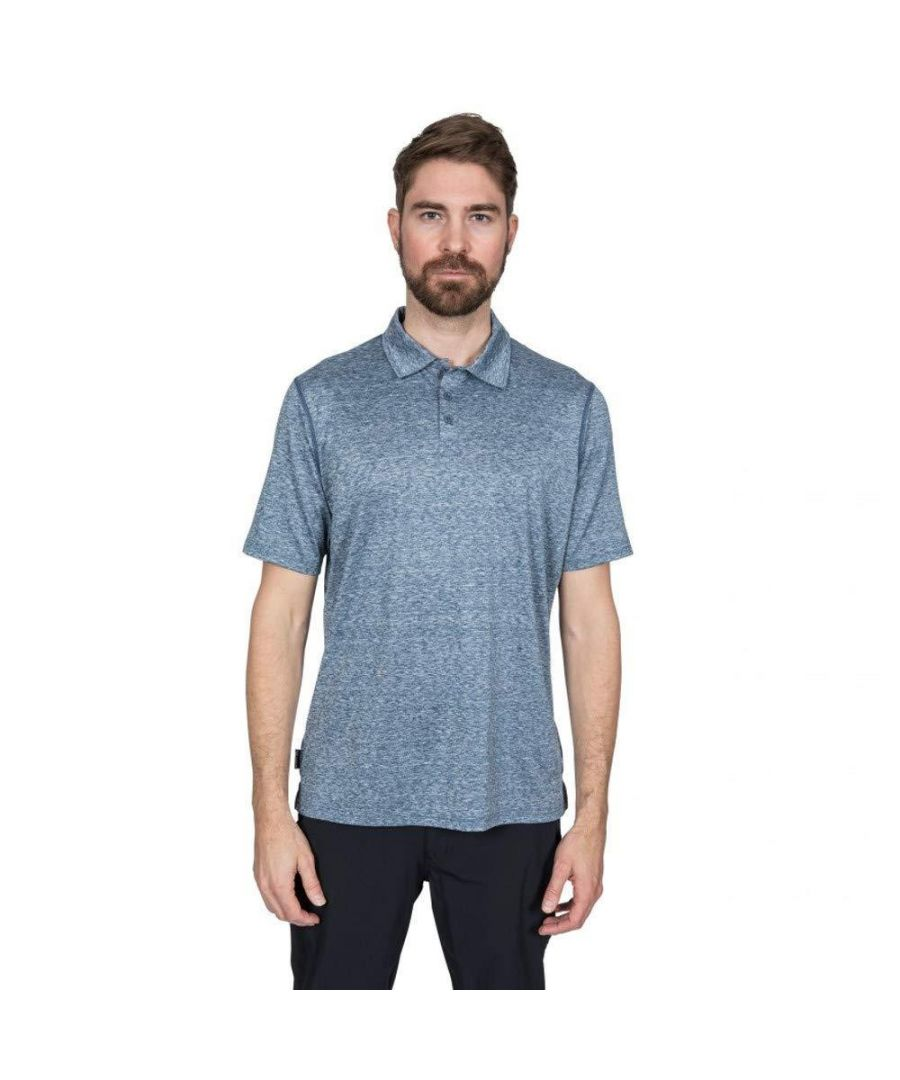 Image for Trespass Mens Monocle Quick Dry Polo Top