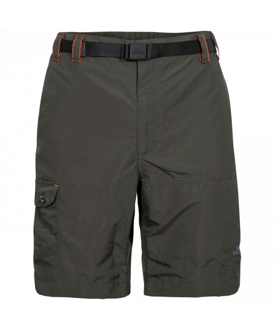 Image for Trespass Mens Rathkenny Belted Shorts