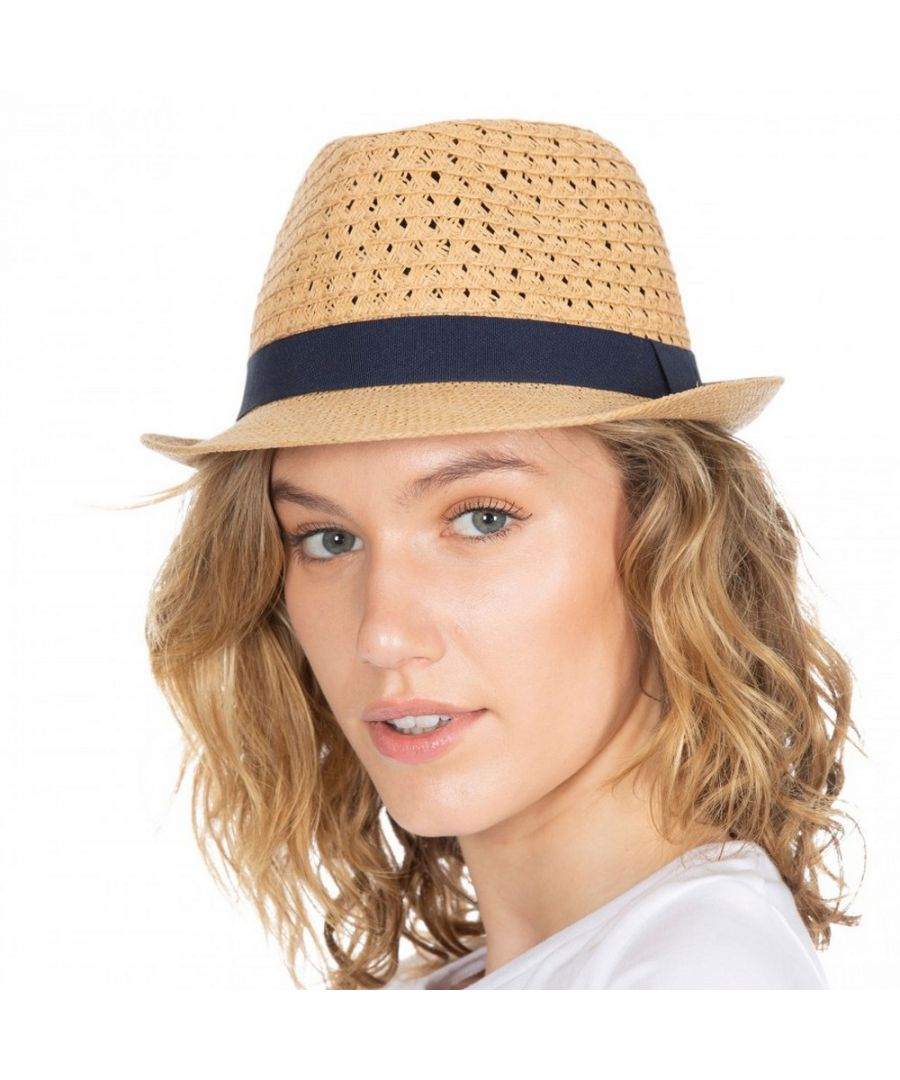 Image for Trespass Womens/Ladies Trilby Straw Hat (Natural)