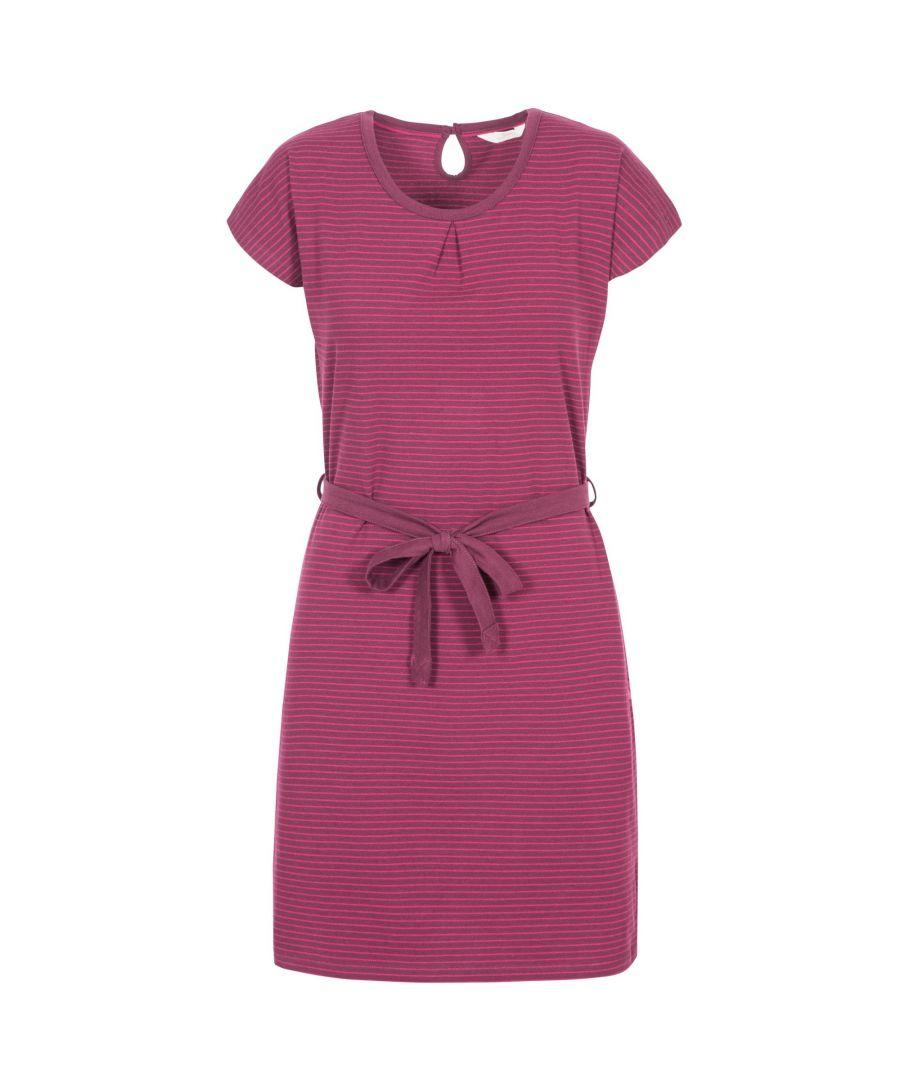 Image for Trespass Womens/Ladies Lidia Round Neck Cotton Dress