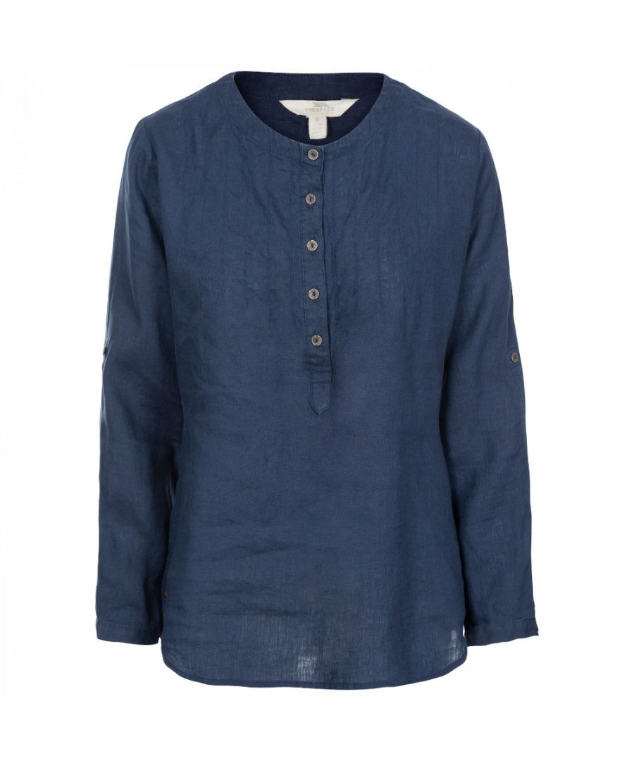 Image for Trespass Womens Messina Casual Cotton Blouse